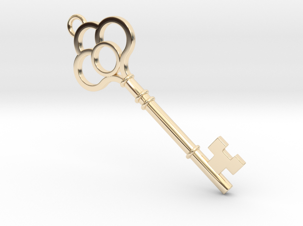Key Necklace 3d printed