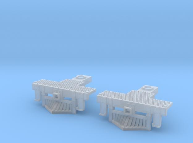 2 N Scale Atlas 4-6-2 Pilots (No Couplings) 3d printed