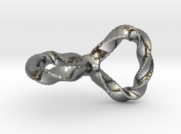 Spiked Loop 3d printed