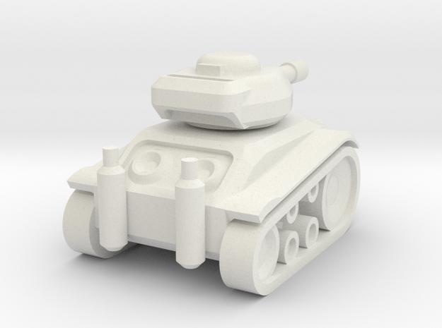 Panzer '68 Mini in White Strong & Flexible