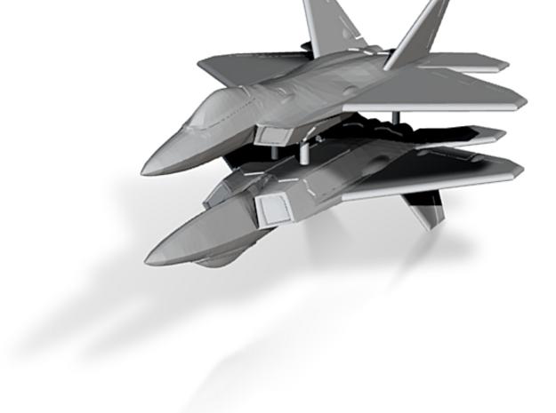 1/300 F-22A Raptor (x2) 3d printed