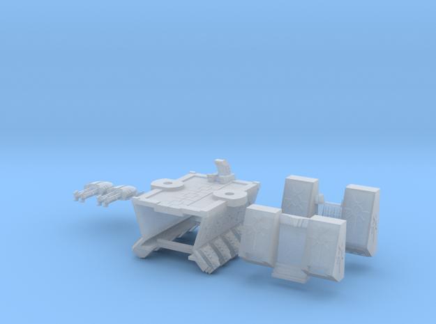 6mm DeathBot War-Barge 3d printed