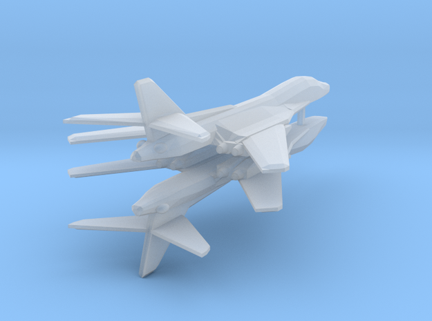 [Galaxia] Excalibur (Wings Swept) x2 in Smooth Fine Detail Plastic