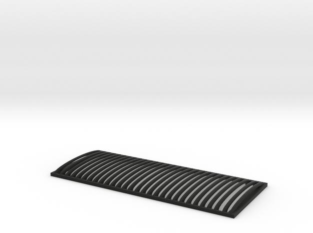 RC4WD Defender Vertical Grill in Black Natural Versatile Plastic