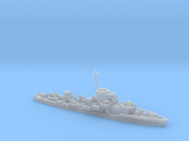 LCS(L)(3) 1/600 scale 3d printed
