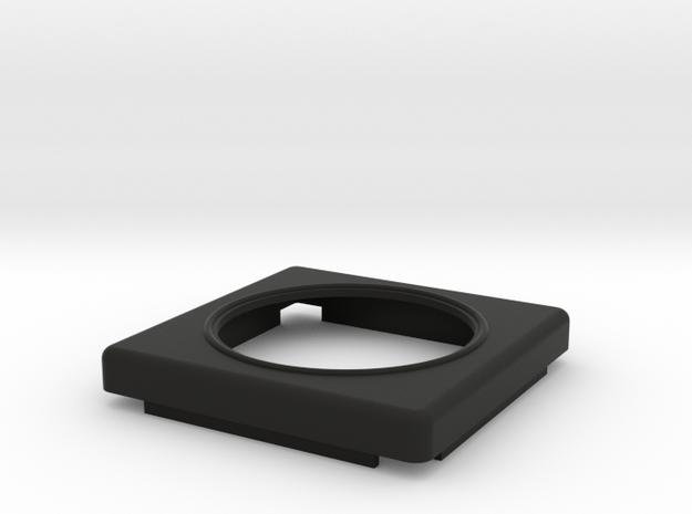 GPSBOX Top Part in Black Natural Versatile Plastic