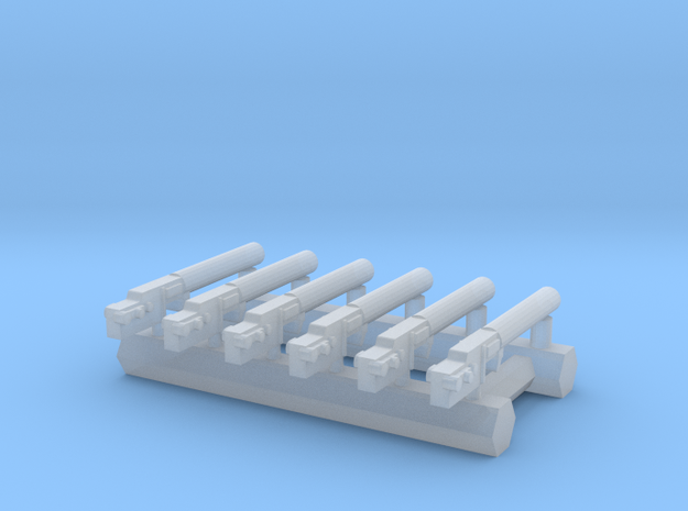 1/144 Spandau LMG 08/15 (6pk) in Smoothest Fine Detail Plastic