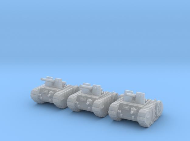 6mm Dieselpunk self-propelled Artillery Mk.C (3)