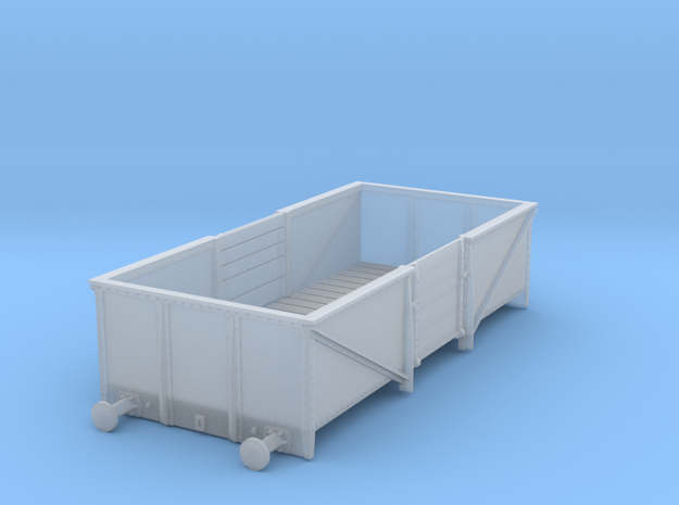 GWR O30 Steel High Open - Body Only in Smooth Fine Detail Plastic