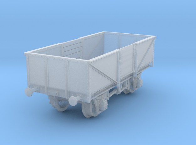 GWR O30 Steel High Open 2mm:1ft / N-gauge in Smooth Fine Detail Plastic