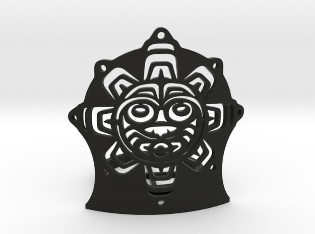 Northwest Design Sun Mask Tealight - Short in Black Strong & Flexible