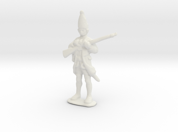 Thin Figurine in White Strong & Flexible