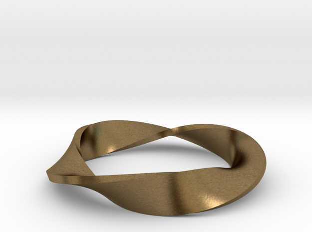 Moebius Strip Variant (1.5 turns) 3d printed