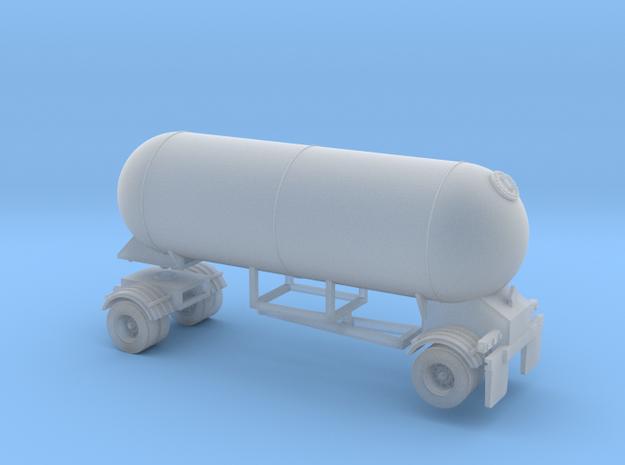HO 1/87 LPG single-axle Pup/Calf, trailer 15  3d printed