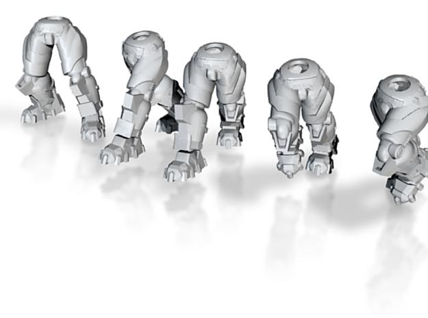 Star Marine Trooper Legs (advancing) (x5) 3d printed