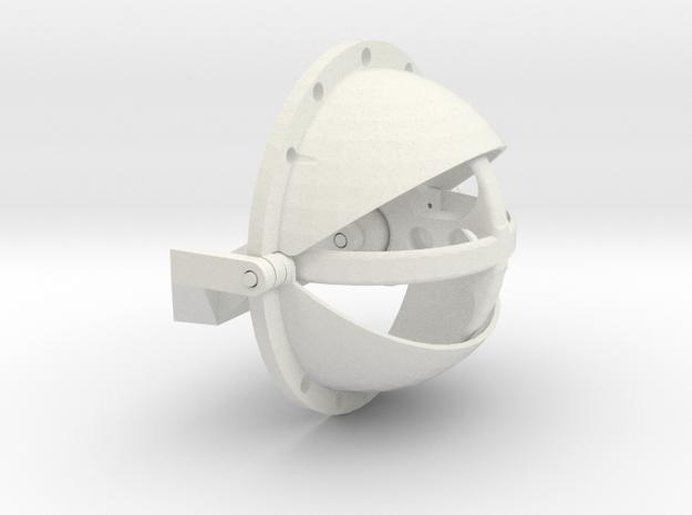 100mm Eye Mech in White Strong & Flexible