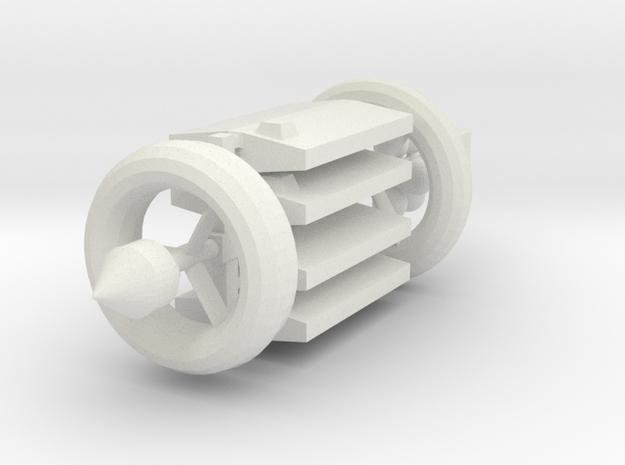 [Galaxia] 1-1-LASH(AG)-CON in White Natural Versatile Plastic