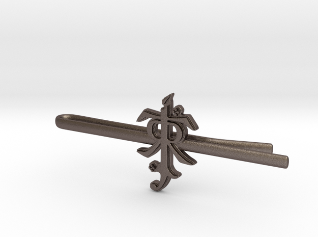 JRR TOLKIEN: Tie clip in Stainless Steel