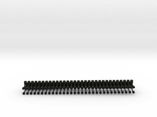 Magnet-Trichterkupplung in Black Natural Versatile Plastic