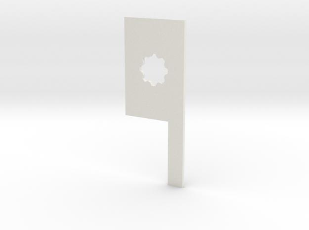 Warmachine measuring widget in White Natural Versatile Plastic