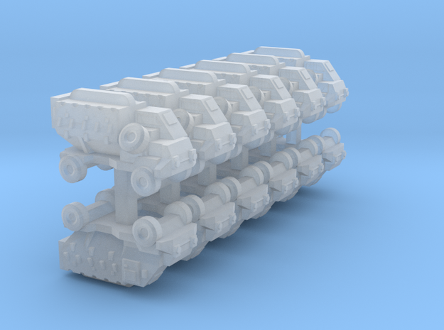 3mm Buffel APC (12 Pcs) 3d printed
