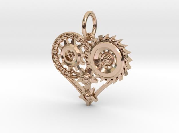 Mech Heart Pendant Mini