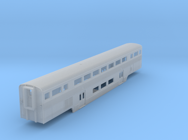California Car Coach - Z Scale 3d printed