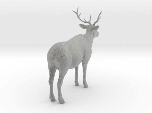 Elk- Elk Animal in Metallic Plastic