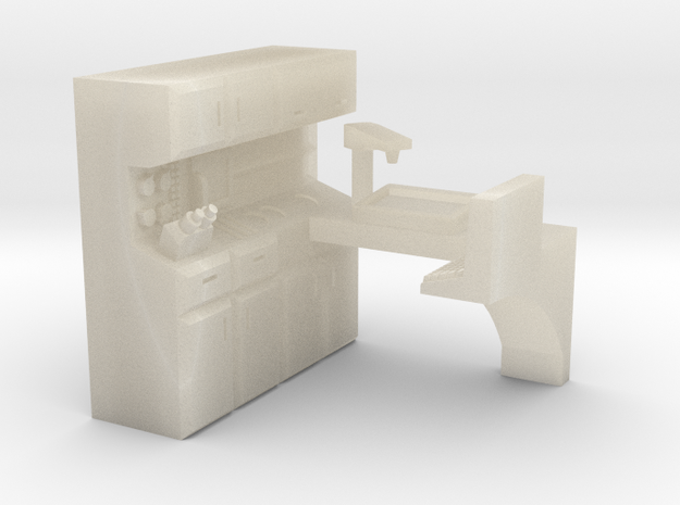 15mm MedLab Station 3d printed