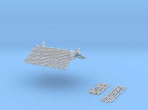 Cafe 2 - No Annex - FUD - Nm - 1:160 in Smooth Fine Detail Plastic