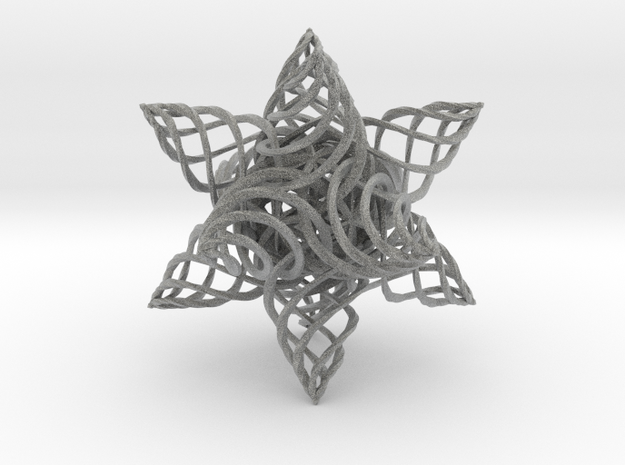 Twisted 3d printed