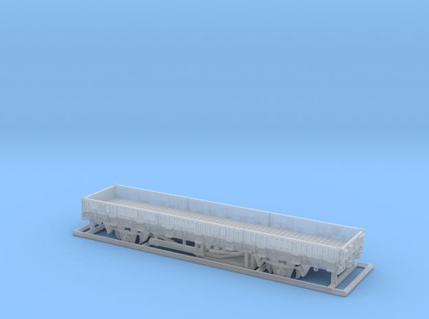 2102 1/160 Fährboot-Rungenwagen Rbmms 55 der DB 3d printed