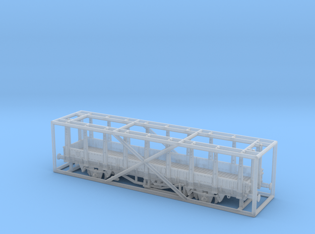 2151 1/148 German train-ferry wagon, 40t-glw low 3d printed