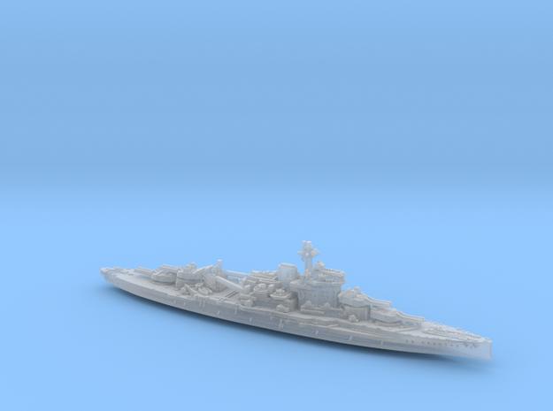 1/1800 HMS Warspite (1942) 3d printed