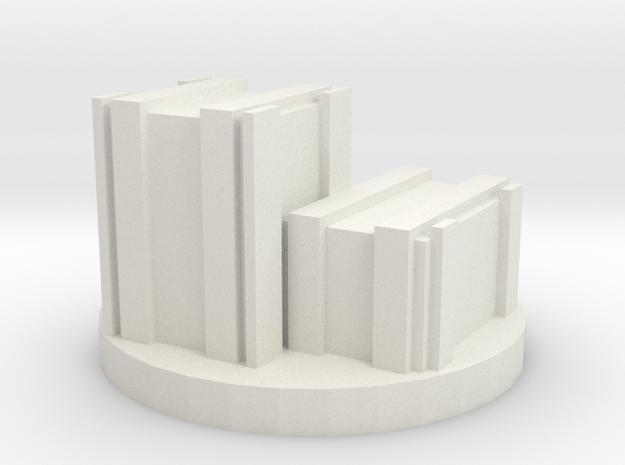 Die Holder Crates in White Natural Versatile Plastic