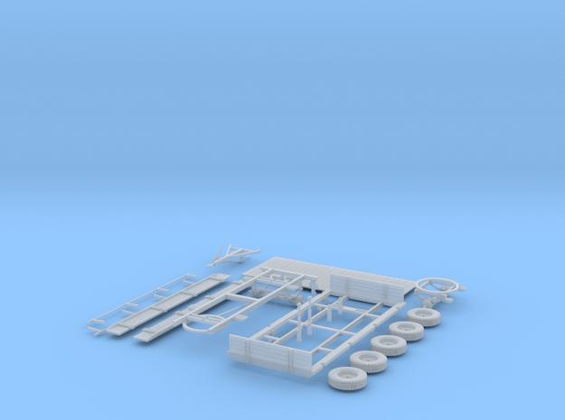 Bruns 2-Seitenkipper 5.7t 1:32 in Smooth Fine Detail Plastic