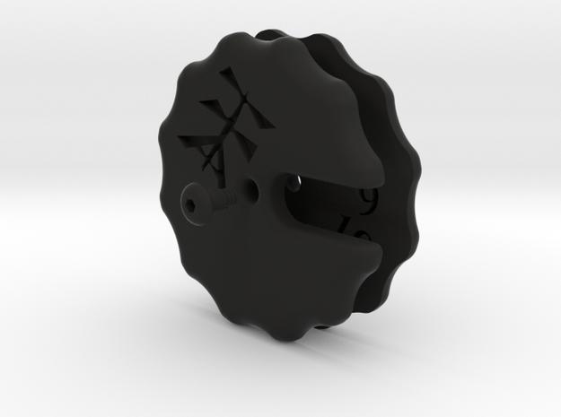 Disc Counter (12) in Black Strong & Flexible