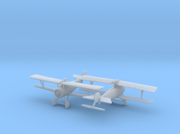1/144 Nieuport 17bis (lewis) x2 3d printed
