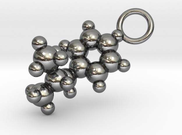 Methamphetamine Molecule Pendant - 20mm