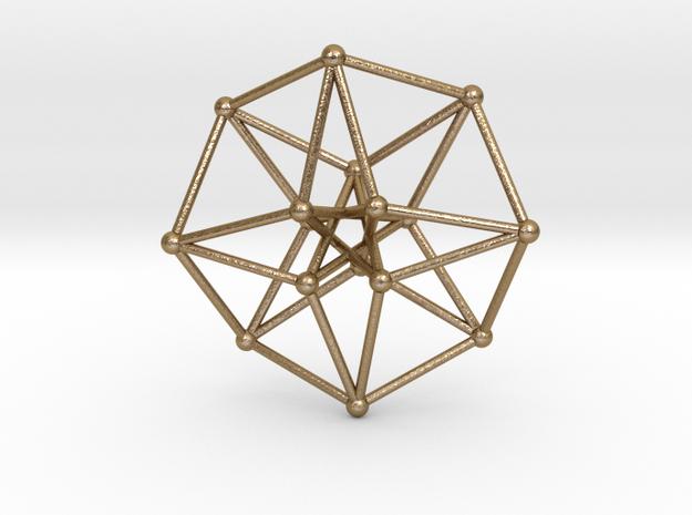 Toroidal Hypercube 35x1mm Spheres 3d printed