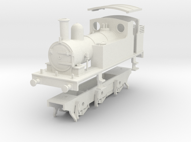 LNER class J65 0.6.0 tank loco kit in White Natural Versatile Plastic