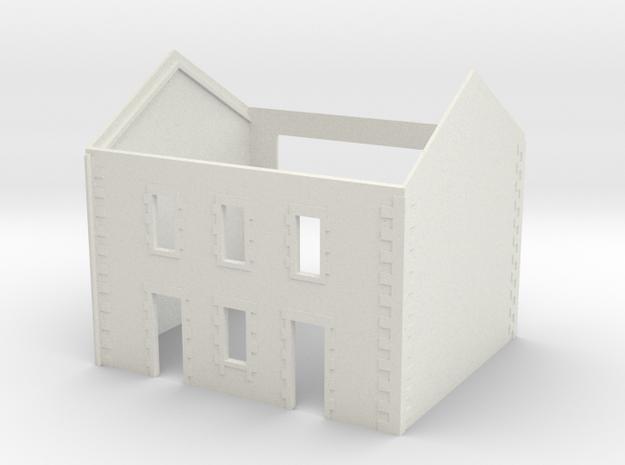 Cafe 2 - No Annex - WSF - Nm - 1:160 in White Natural Versatile Plastic