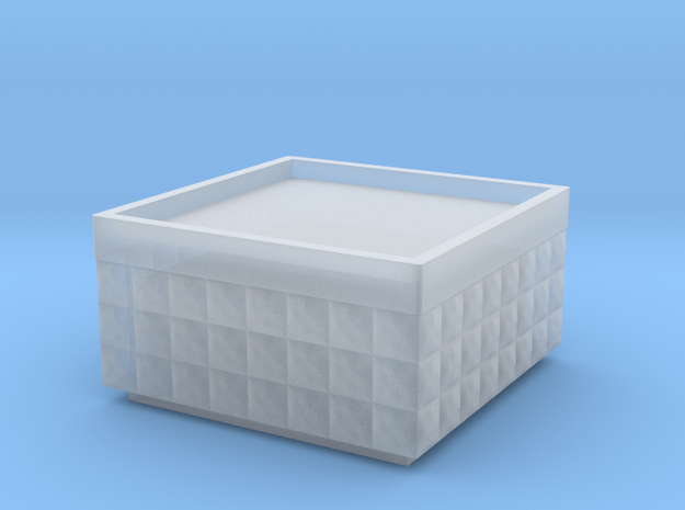 Hesco 4x4x2 -15mm in Smooth Fine Detail Plastic