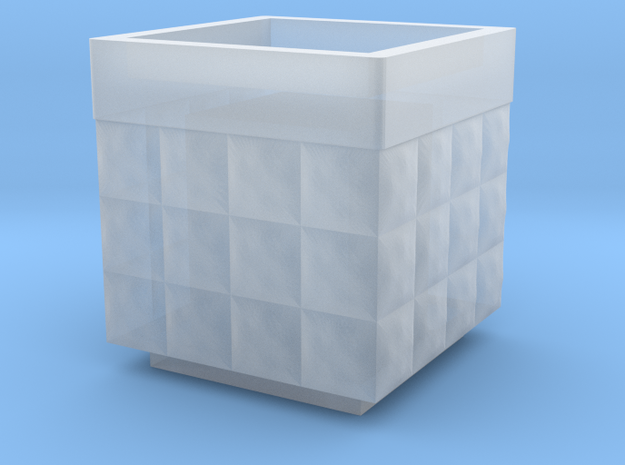 Hesco 2x2x2 -15mm in Smooth Fine Detail Plastic