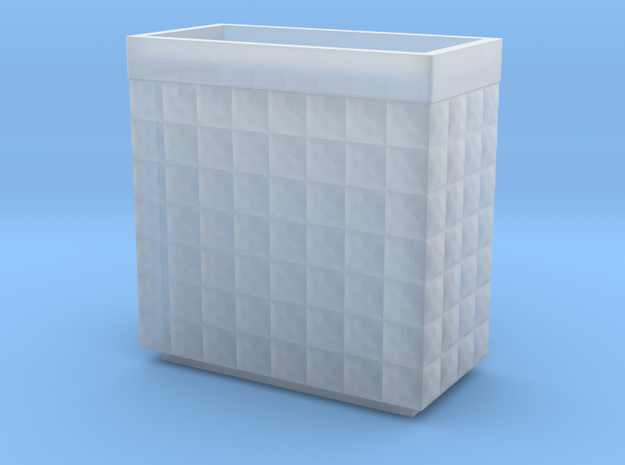 Hesco 2x4x4 -15mm in Smooth Fine Detail Plastic