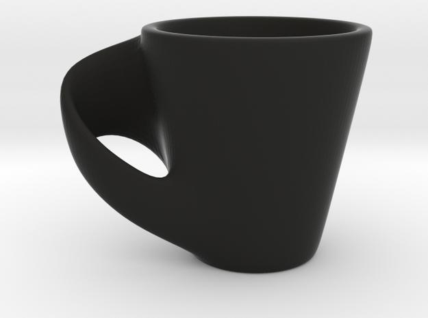 Espresso Cup in Black Natural Versatile Plastic