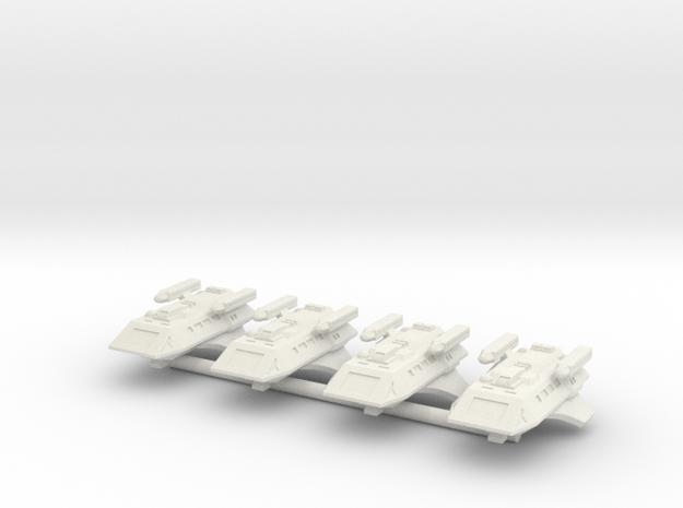 1/1000 Scale Scamper Volkov Type K-37 in White Strong & Flexible