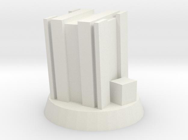 Ammo Crate Marker in White Natural Versatile Plastic