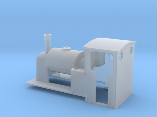 5.5 mm scale saddle-tank loco   3d printed