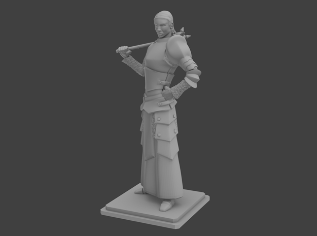 Female priest in Smooth Fine Detail Plastic